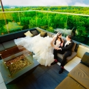 Photo Of Rooftop Weddings With Lush Green Views - Above Weddings