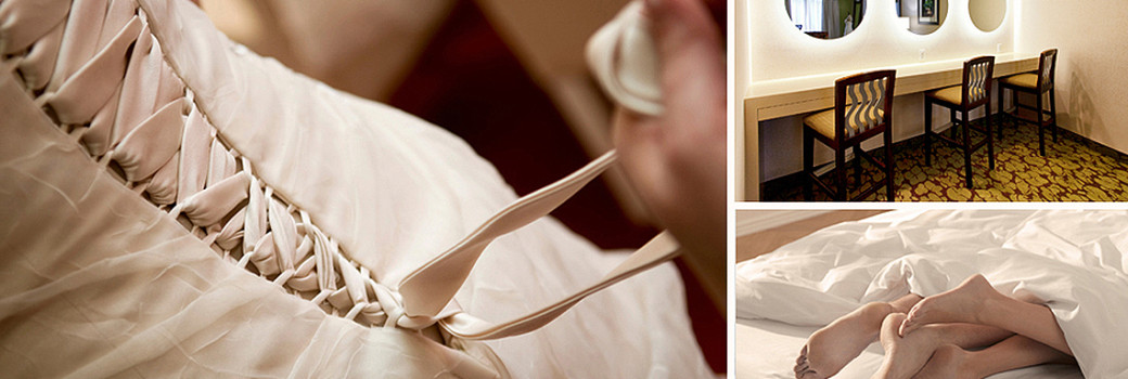 Photos of bridal honeymoon suites
