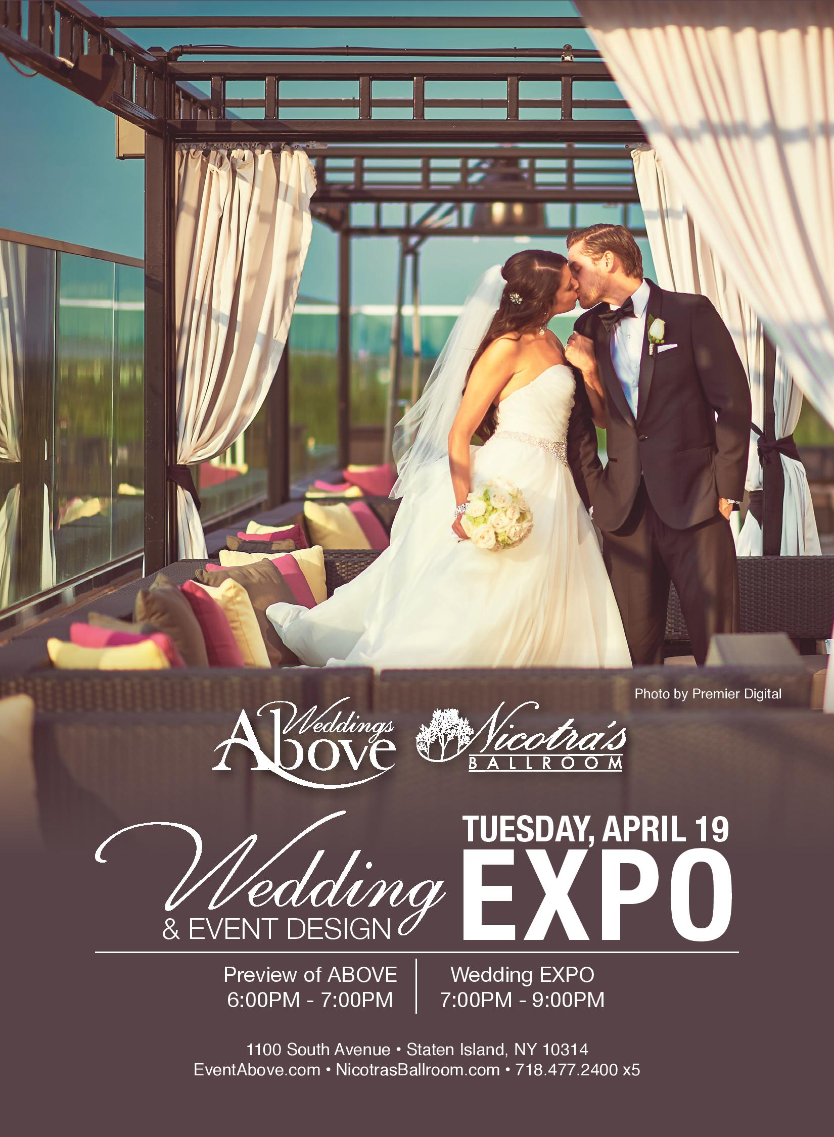 Wedding and event design expo April 19th