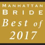 Manhattan Bride Best of 2017 - Above Weddings