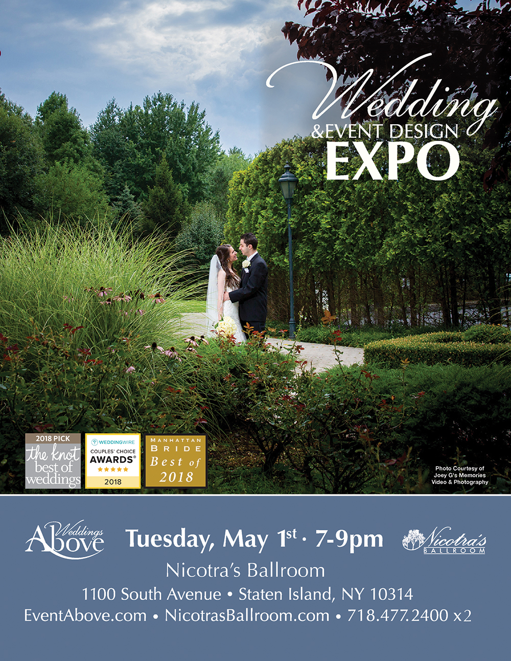 Wedding and Event Design expo May 1st