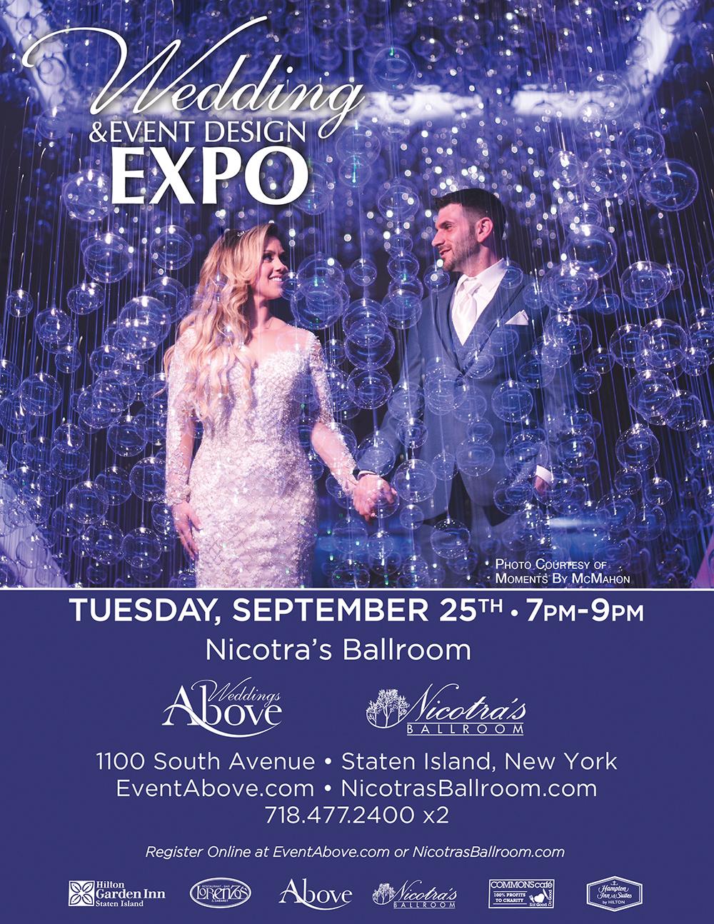 Wedding and Event Designe Expo Flyer