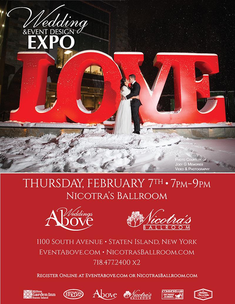 Wedding and Event Design Expo Feburary Seventh